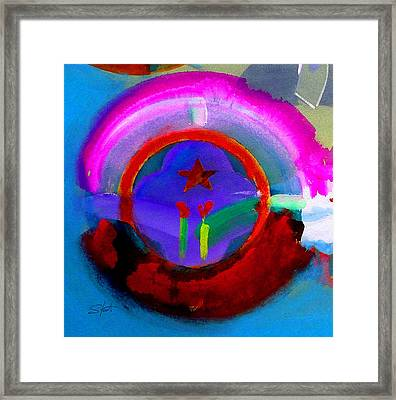 Framed Print featuring the painting Regeneration by Charles Stuart