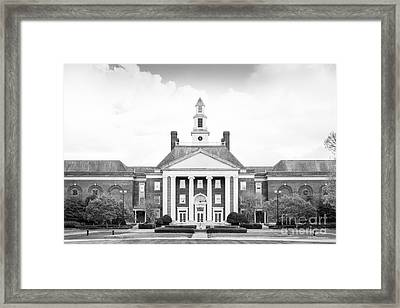 Regent University Studio Headquarters Framed Print