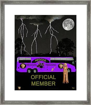 Reggae Music Framed Print by Eric Kempson