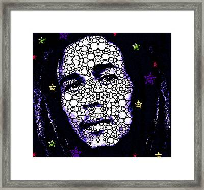 Reggae Royalty - Bob Marley Tribute Framed Print