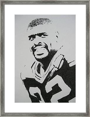 Reggie Framed Print