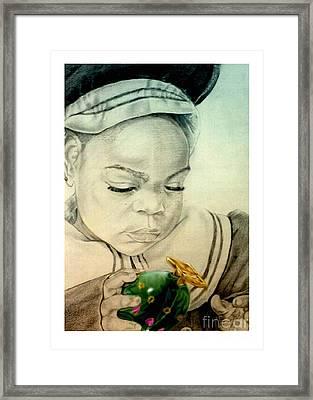 Regi Framed Print by Reggie Duffie