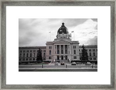 Regina Legislative Building Framed Print by Sonya Chalmers