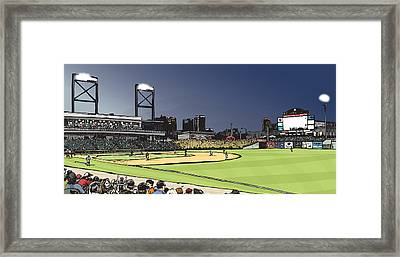 Regions Field Framed Print