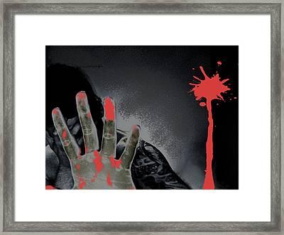 Regret Framed Print by Oscar  Servin