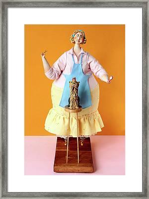 Regular Client Framed Print by Marina Trusova