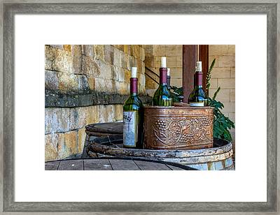 Regusci Winery Framed Print