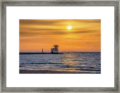 Framed Print featuring the photograph Rehabilitation Rising by Bill Pevlor