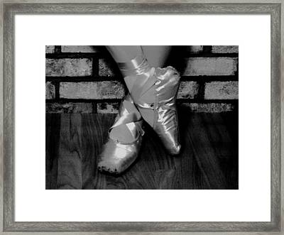 Rehearsal Break Framed Print