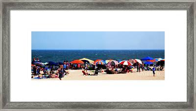 Rehobath Beach Framed Print