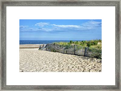 Framed Print featuring the photograph Rehoboth Delaware by Brendan Reals
