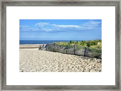 Rehoboth Delaware Framed Print by Brendan Reals