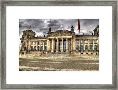 Reichstag Building  Framed Print by Jon Berghoff