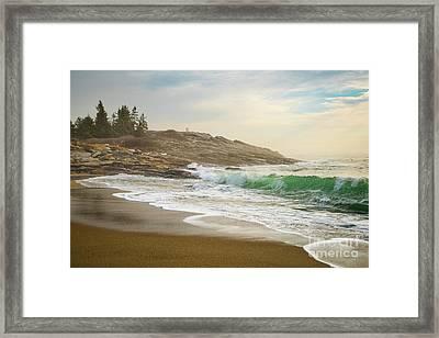 Reid State Park Framed Print