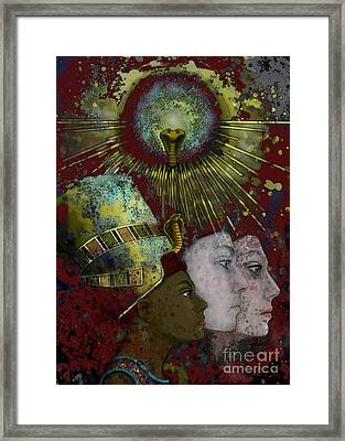 Reincarnate Framed Print by Carol Jacobs