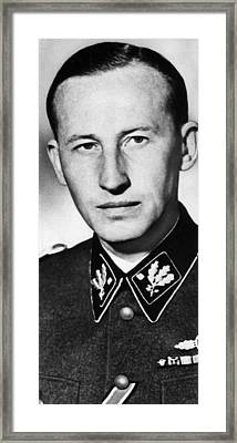 Reinhard Heydrich 1904-1942, High Framed Print