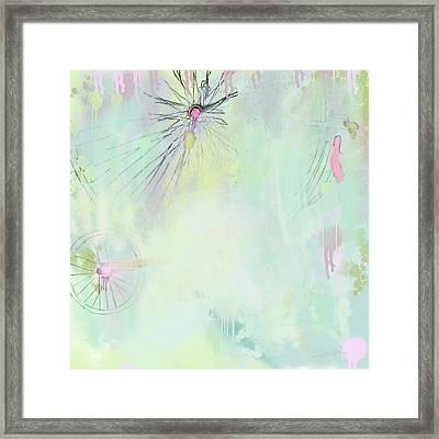 Reinventing The Wheel Framed Print