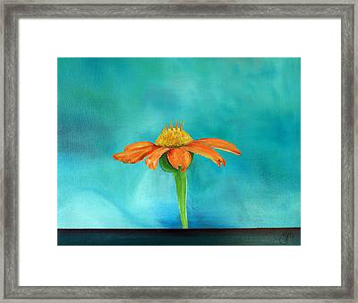 Rejoice Evermore Framed Print by Jane Autry