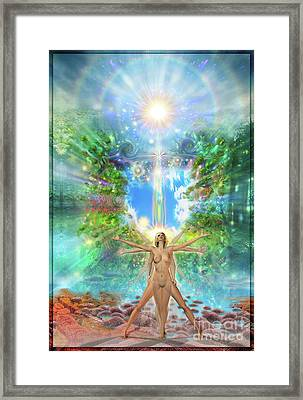 Rejoice-thy-young II Framed Print