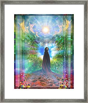 Rejoice-thy-young Framed Print