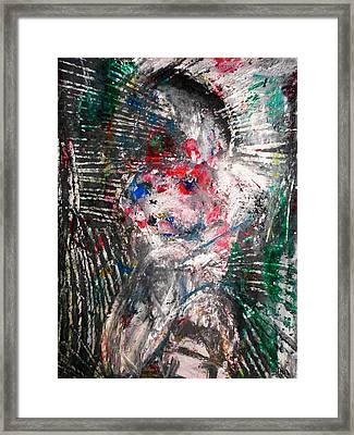 Relaps Framed Print by Hugo Razlerfight