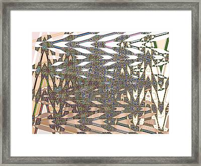 Relationship Framed Print by Ann Johndro-Collins