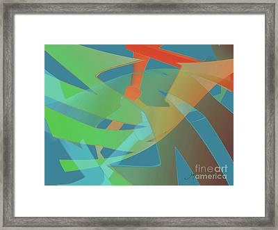 Relationship Dynamics Framed Print