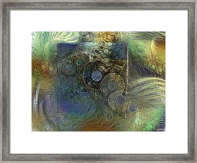 Relationship With The Monolith Framed Print by Casey Kotas