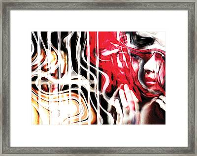 Relationships Framed Print by Naikos N