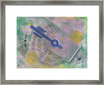 Relativity And Such Framed Print by Maura Satchell