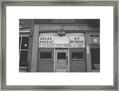 Relax Freely- Walla Walla Photography By Linda Woods Framed Print by Linda Woods