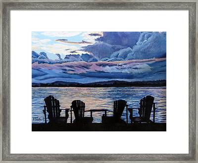 Relax Framed Print by Marilyn McNish