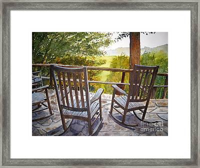 Relax Framed Print by Shirley Braithwaite Hunt