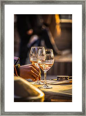 Relax Together Framed Print by David Warrington