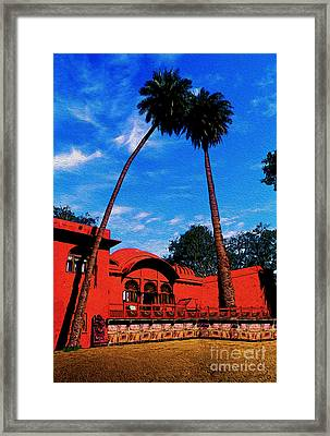Relax With Nature Framed Print by Manjot Singh Sachdeva