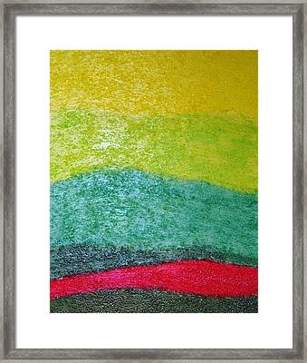 Relaxation Framed Print by Amanda Schambon