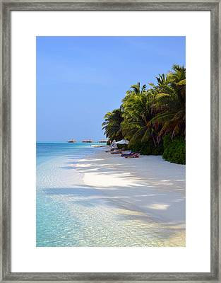 Relaxation Framed Print by Corinne Rhode