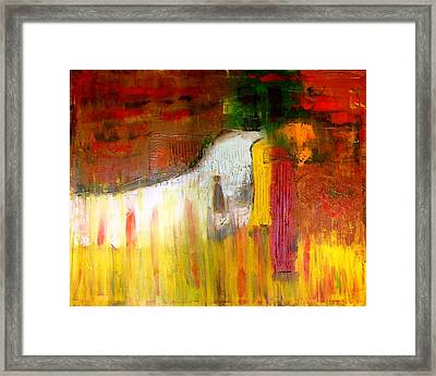 Relaxation Framed Print by Glenda  Jones