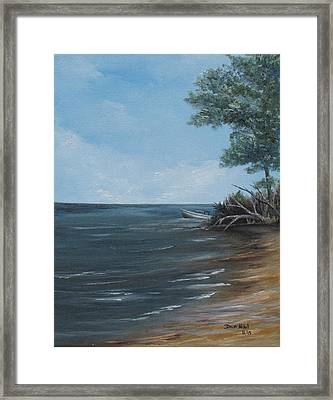 Relaxation Island Framed Print