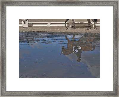 Relaxation Mirrored Framed Print by JAMART Photography