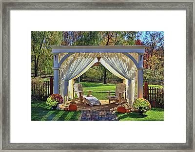 Relaxation Oasis Framed Print