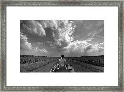 Relaxation Framed Print by Paralaxa