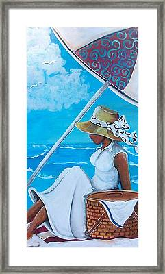Relaxation Framed Print by Sonja Griffin Evans