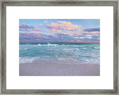 Relaxation Therapy Artistic Impression Framed Print by Bill Chambers