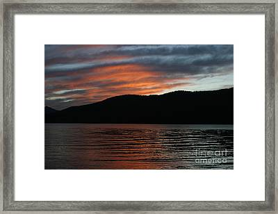 Relaxing At The End Of The Day Framed Print by Robert Torkomian