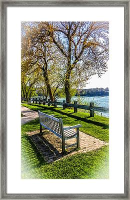 Relaxing Beauty Framed Print