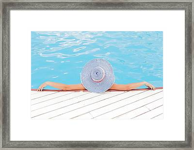 Relaxing Framed Print