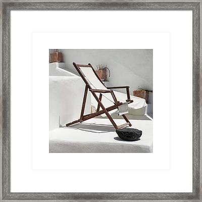 Relaxing Framed Print by Jenni Alexander