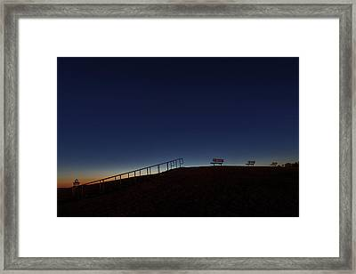 Relaxing Morning Framed Print