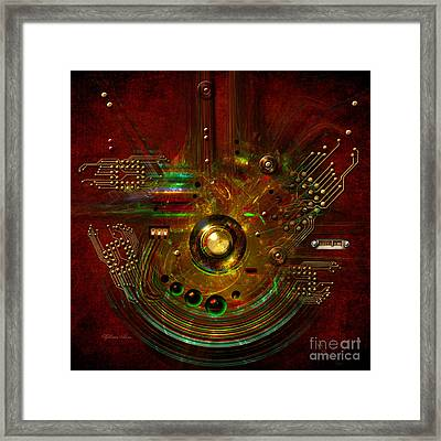 Relay Framed Print